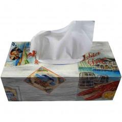 Pudełko na chusteczki dla wielbicieli owoców morza