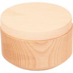 drewniane pudełko do decoupage na prezent
