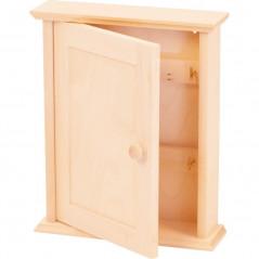 szafka na klucze na prezent ozdobiona we własnym stylu