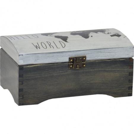 Kuferek na prezent hello world