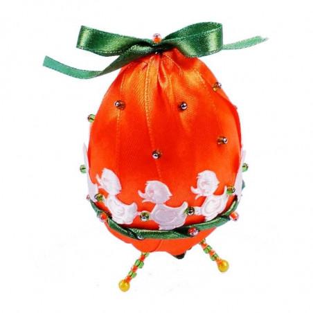 Ozdobne wielkanocne jajko - kaczuszka