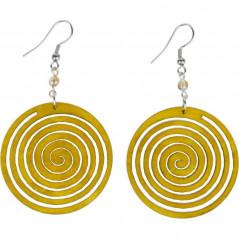 Kolczyki - Yellow Circle
