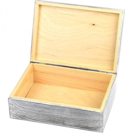 ozdobne drewniane pudełko na biżuterię dla dziewczynki