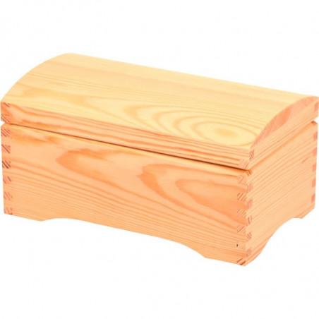 kuferek szkatułka na prezent do ozdobienia we własnym stylu