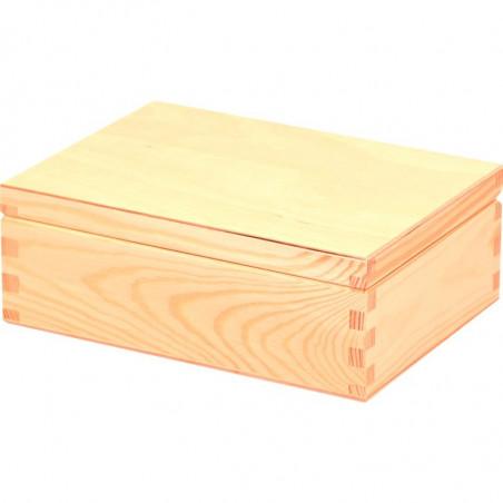 drewniana szkatułka ozdobna decoupage na prezent