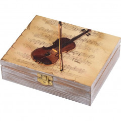 Violin Jewelry Box
