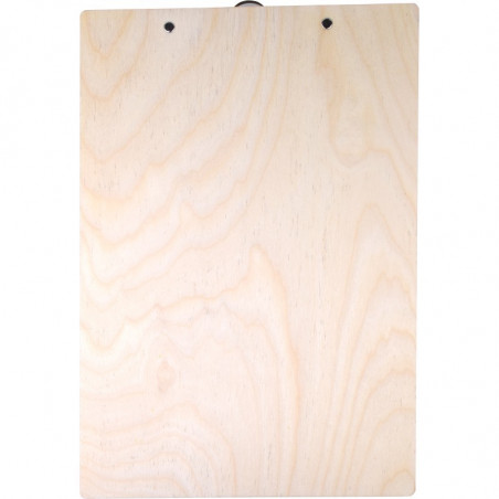 drewniana podkładka na dokumenty z grawerunkiem