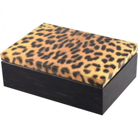 ozdobna drewniana szkatułka na biżuterię,