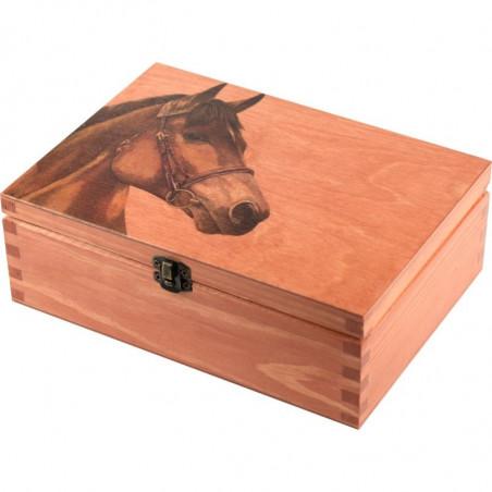 Ozdobna szkatułka z Koniem