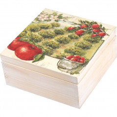 Herbaciarka z podstawkami Jabłkowy Sad