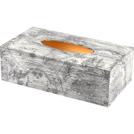 Drewniane pudełko na chusteczki, chustecznik lub ozdobne pudełko na rękawiczki