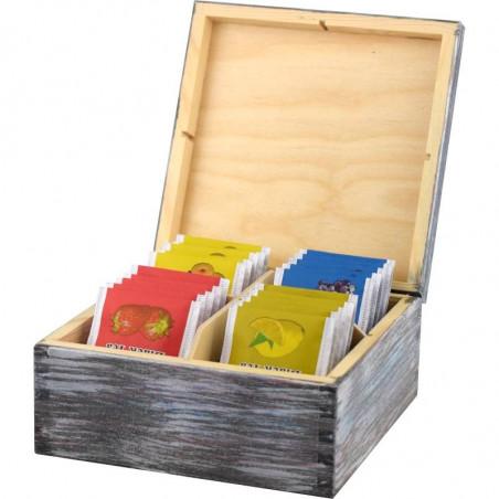 Pudełko na herbatę Indiański Totem