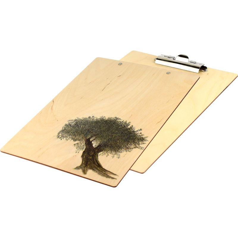 Ozdobny clipboard podstawka do domu i biura z drzewkiem na prezent
