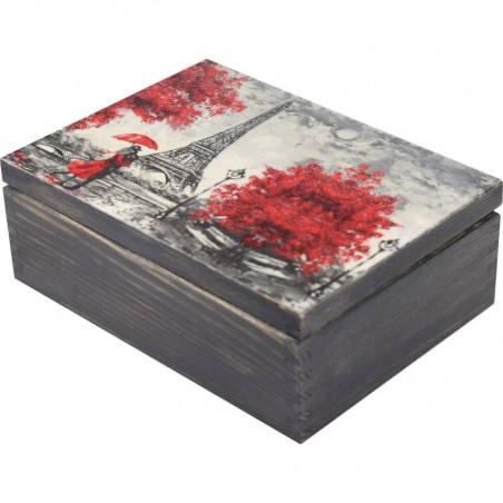 tea box red elegance, Paris, for two