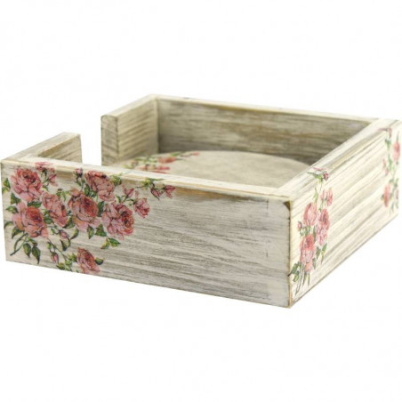 rose box for coasters for home or office
