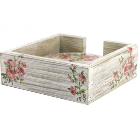 decorative box for coasters for home or office