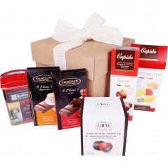 Słodki zestaw prezentowy - Słodki Kupido & czekoladowy Amor
