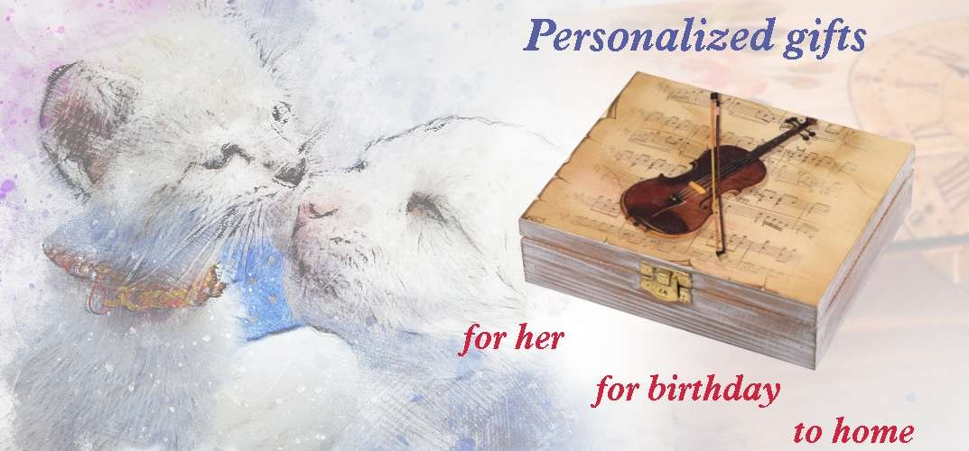 Personalized gifts. For her, for her birthday, home ... Madegro gifts